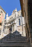 Santa Maria Maggiore church Montblanc, Tarragona Spain Royalty Free Stock Photo