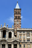 Santa Maria Maggiore church in Rome Royalty Free Stock Images