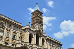 Santa Maria Maggiore church in Rome Stock Photography