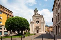 Santa Maria Maggiore em Trento, Trentino, Itália Fotografia de Stock