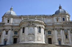Santa Maria Maggiore facade Stock Images