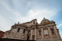 Santa Maria Maggiore Royalty Free Stock Photography