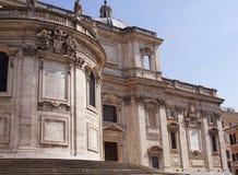 Santa Maria maggiore-I Rome-Italië Royalty-vrije Stock Fotografie