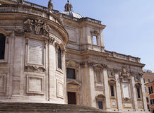 Santa Maria Maggiore-I- Włochy Fotografia Royalty Free