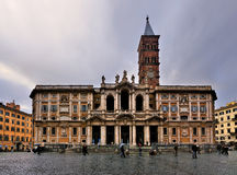 Santa Maria Maggiore, Rome Royalty Free Stock Images