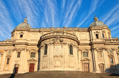 Santa Maria Maggiore in Rome Royalty Free Stock Photo