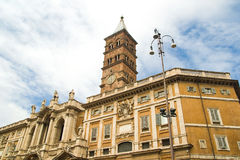 Santa Maria Maggiore in Rome, Italy Royalty Free Stock Images