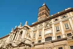 Santa Maria Maggiore (St. Mary Major) Rome stock image