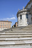Santa Maria Maggiore stairs Royalty Free Stock Image