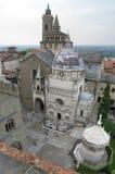 Santa Maria Maggiore w Bergamo obraz royalty free
