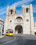 Santa Maria Maior de Lisboa Stock Photography