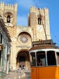 Santa Maria Maior DE Lissabon Stock Foto's