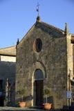 Santa Maria (Monteriggioni) Stock Images