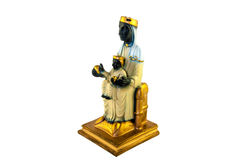 Santa Maria Montserrat, Patrones van Catalonië en zuigeling Christus Royalty-vrije Stock Afbeeldingen