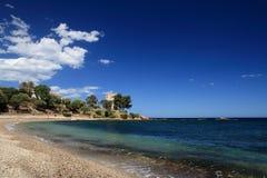 Santa Maria Navarrese, Sardegna lizenzfreies stockbild