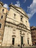 Santa Maria nella chiesa di Vallicella a Roma, Italia Fotografia Stock Libera da Diritti