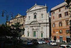 Santa Maria nella chiesa di Vallicella a Roma, Italia Fotografie Stock Libere da Diritti