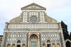 Santa Maria Novella Cathedral of Florence Stock Photography