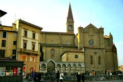 Santa Maria Novella church Royalty Free Stock Image