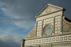 Santa maria Novella church detail Royalty Free Stock Photo