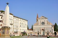 Santa Maria Novella church, Florence. Santa Maria Novella church in Florence , Italy. copy space for your text royalty free stock images