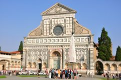 Santa Maria Novella church, Florence Royalty Free Stock Image
