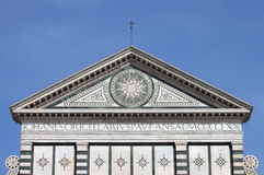 Santa Maria Novella church in Florence Stock Photo