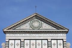 Santa Maria Novella church in Florence stock photo