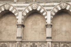 Santa Maria Novella Church Florence Royaltyfria Foton