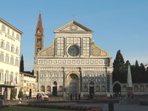 Santa Maria Novella Church Florence Arkivbild