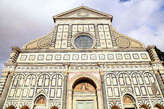 Santa Maria Novella, a church in Florence, Italy Stock Image