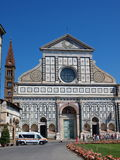 Santa Maria Novella church, Florence, Italy Stock Photos