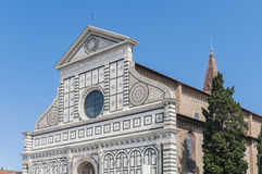 Santa Maria Novella church in Florence, Italy Stock Images