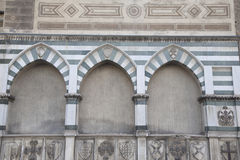 Santa Maria Novella Church, Florenz Stockfotografie