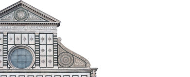 The Santa Maria Novella facade Royalty Free Stock Photo