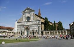 Santa Maria Novella in Florence. Church of Santa Maria Novella in Florence Tuscany royalty free stock photography