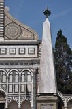 Santa Maria Novella in Florence Stock Photography