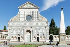 Santa Maria Novella in Florence Royalty-vrije Stock Fotografie