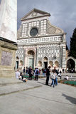 Santa Maria Novella in Florence Stock Photos