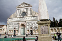 Santa Maria Novella in Florence Stock Photo