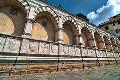 Santa Maria Novella in Florence, Italy. Santa Maria Novella, Florence, Italy stock photos