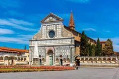 Santa Maria Novella in Florence, Italy Stock Photo