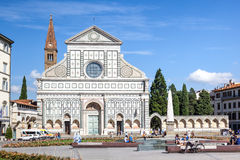 Santa Maria Novella Florence Italy Stock Photo