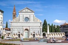Santa Maria Novella Florence Italy Stock Photo
