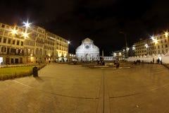 Santa Maria Novella Florence in Tuscany, Italy Royalty Free Stock Image