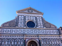 Santa Maria Novella in Florence Stock Photography