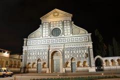 Santa-Maria Novella i Florence Arkivbild