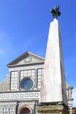 Santa Maria Novella i Florence Fotografering för Bildbyråer