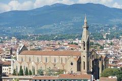 Santa Maria Novella i Florence Royaltyfri Fotografi