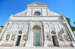Santa Maria Novella kyrka i Florence, Italien. Royaltyfria Bilder